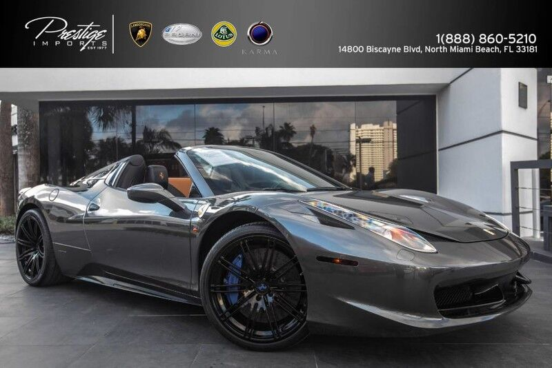 2012 Ferrari 458 Italia Spider  North Miami Beach FL