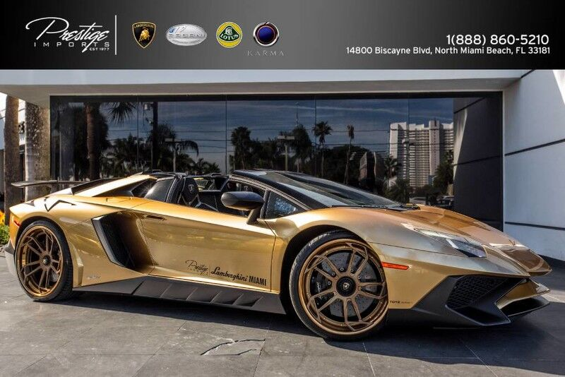 2016 Lamborghini Aventador Super Veloce Roadster  North Miami Beach FL