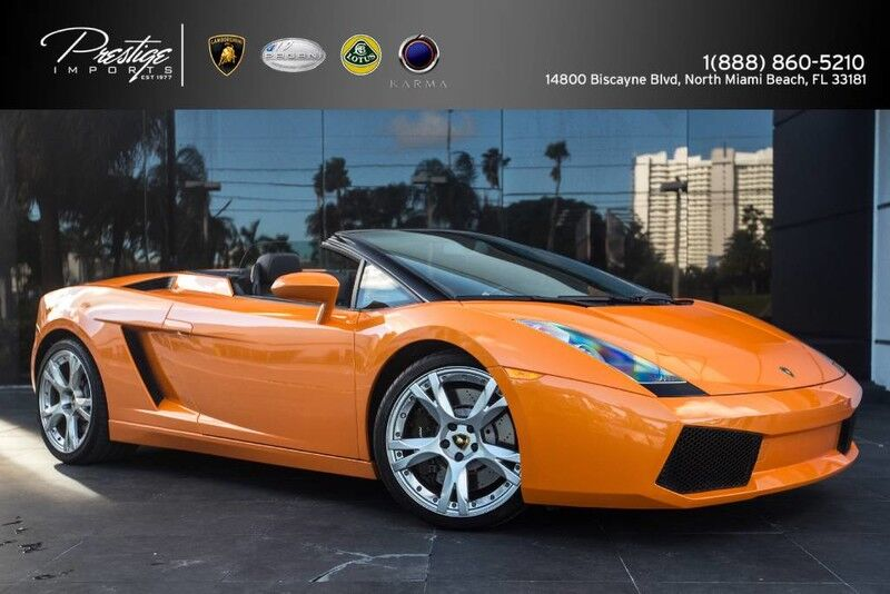 2008 Lamborghini Gallardo Spyder North Miami Beach FL