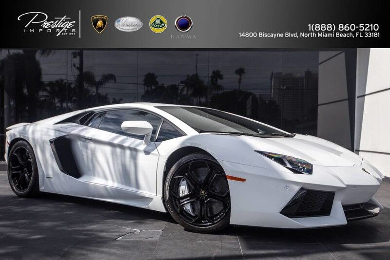 2012 Lamborghini Aventador  North Miami Beach FL