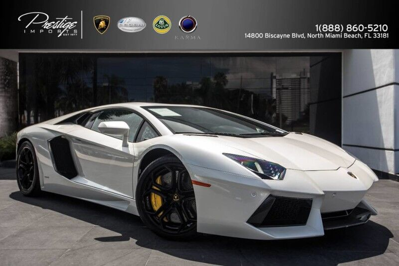 2014 Lamborghini Aventador  North Miami Beach FL