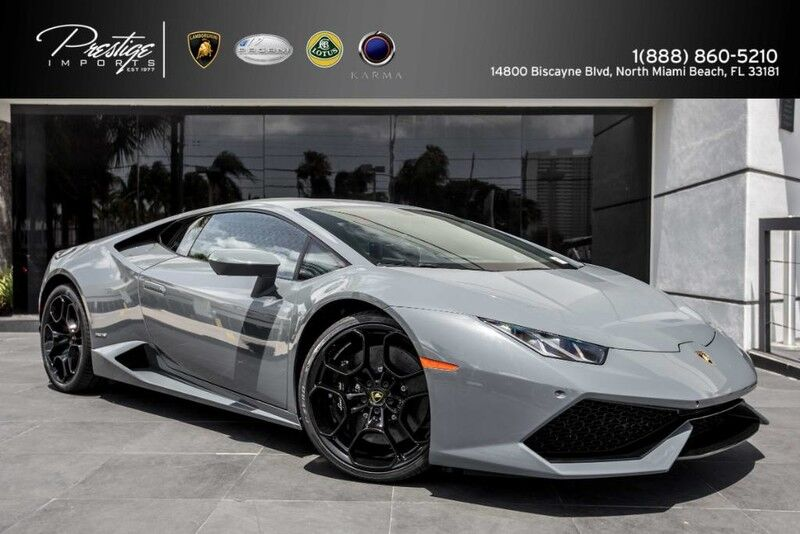 2017 Lamborghini Huracan Coupe North Miami Beach FL