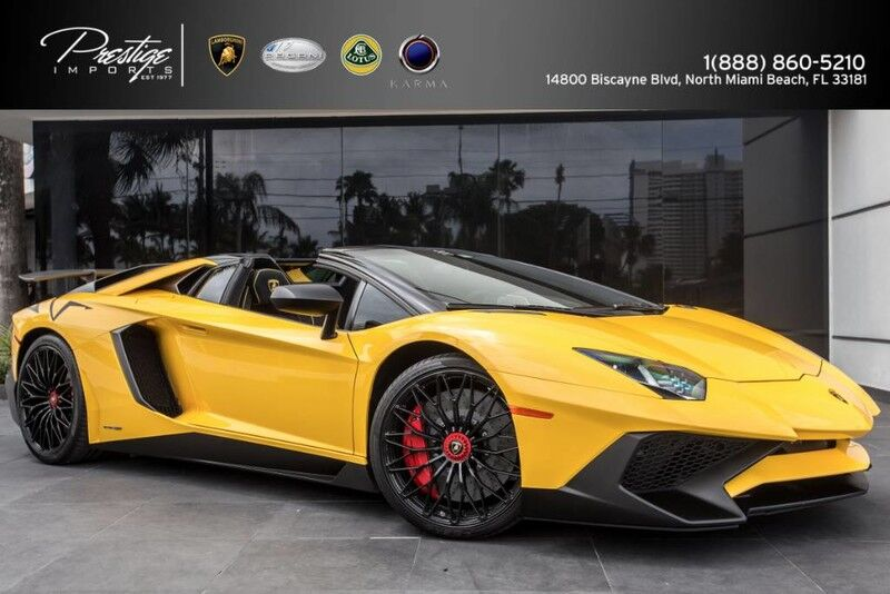 2017 Lamborghini Aventador SV North Miami Beach FL