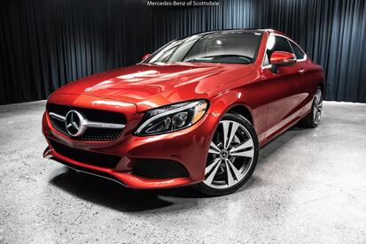 2017 Mercedes-Benz C-Class C 300 Coupe Scottsdale AZ