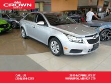 2014 Chevrolet Cruze 4dr Sdn 1LT Winnipeg MB