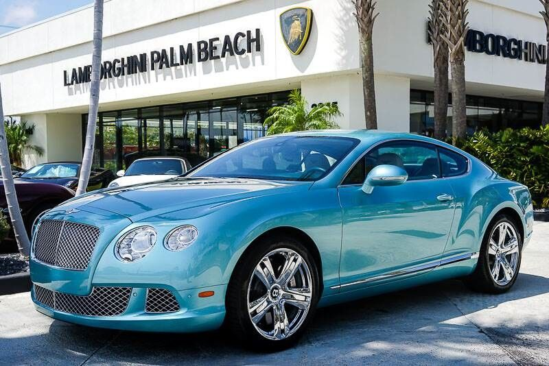 2012 Bentley Continental GT  Palm Beach FL