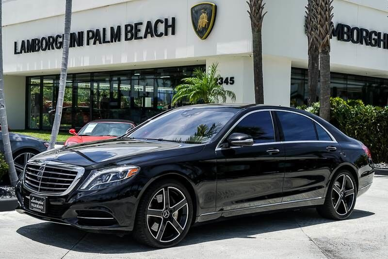 2015 Mercedes-Benz S-Class S 550 Palm Beach FL