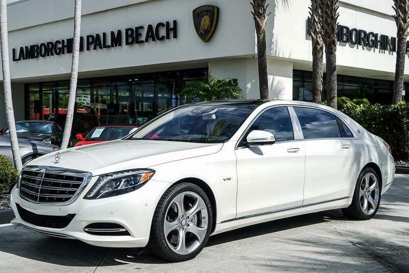 2016 Mercedes-Benz S-Class Maybach S 600 Palm Beach FL