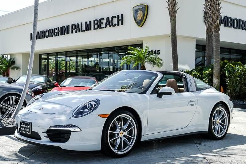 2016 Porsche 911 Targa 4 Palm Beach FL