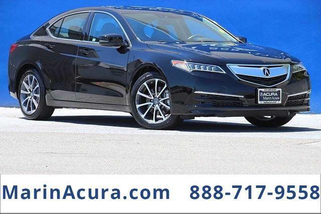 2015 Acura TLX 3.5 V-6 9-AT P-AWS with Technology Package Bay Area CA