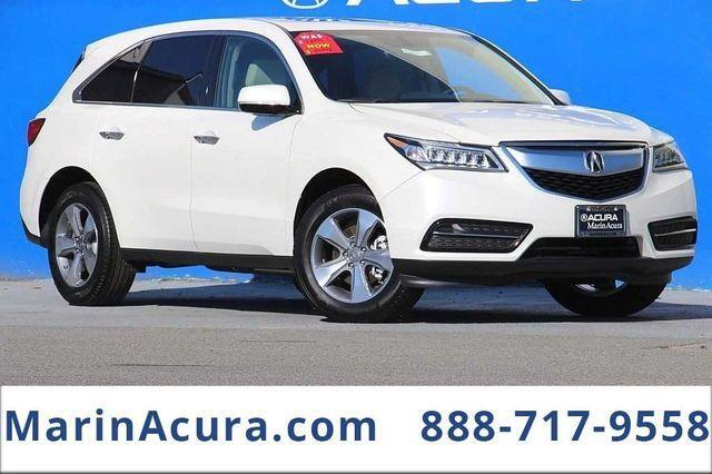2016 Acura MDX  Bay Area CA