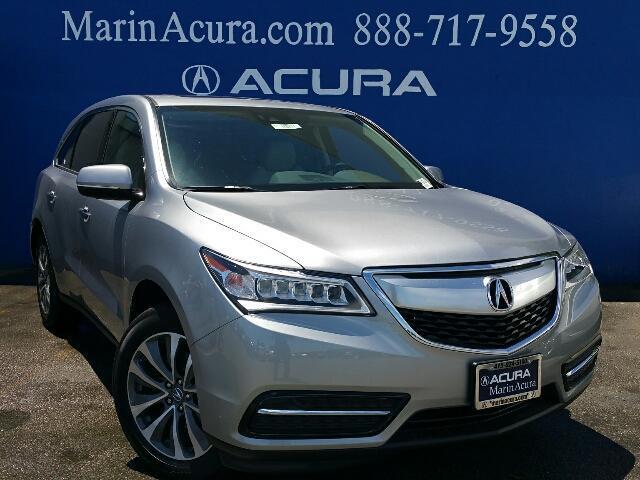 2016 acura mdx with technology package corte madera ca 15129528. Black Bedroom Furniture Sets. Home Design Ideas