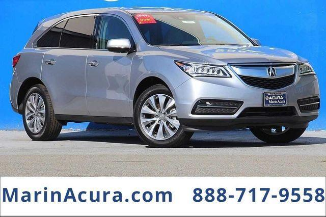 2016 Acura MDX with Technology Package Bay Area CA
