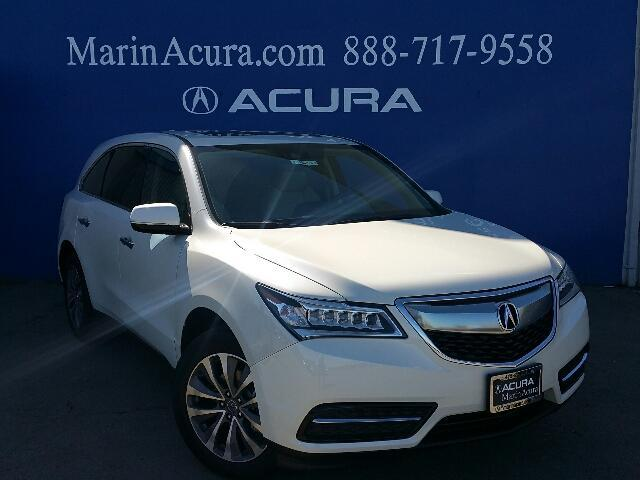 2016 Acura MDX with Technology and AcuraWatch Plus Packages Corte Madera CA