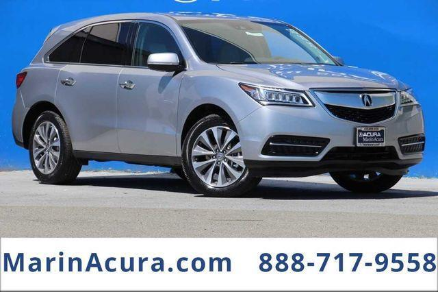 2016 Acura MDX SH-AWD with Technology Package Bay Area CA