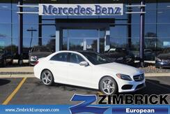 2017 Mercedes-Benz C-Class C 300 4MATIC® Sedan with Sport Pkg Madison WI