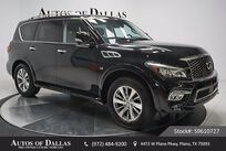 INFINITI QX80 THEATER,DRVR ASST,NAV,CAM,SUNROOF,3RD ROW,DVD 2016