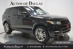 2016 Land Rover Range Rover Sport 5.0L V8 Supercharged NAV,CAM,PANO,CLMT STS,21IN WL Plano TX