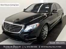 2015 Mercedes-Benz S-Class S550 DISTRONIC+,AMG SPORT,REAR STS,DVD,$122K MSRP Plano TX