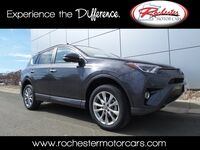 Toyota RAV4 Platinum Nav Bluetooth Backup Cam Sunroof Heated Seats 2017