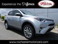 Toyota RAV4 Limited Nav Bluetooth Backup Cam Sunroof Heated Seats 2017