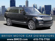 2016 Land Rover Range Rover 5.0L V8 Supercharged Autobiography San Francisco CA