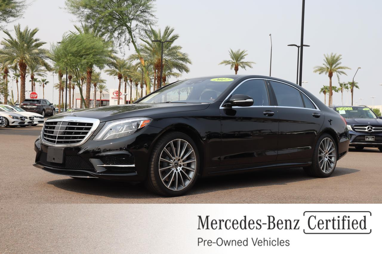 used 2017 Mercedes-Benz S car, priced at $62,986