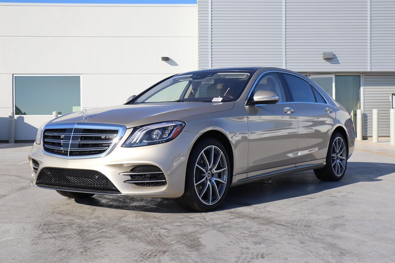 new 2020 Mercedes-Benz S car, priced at $126,555
